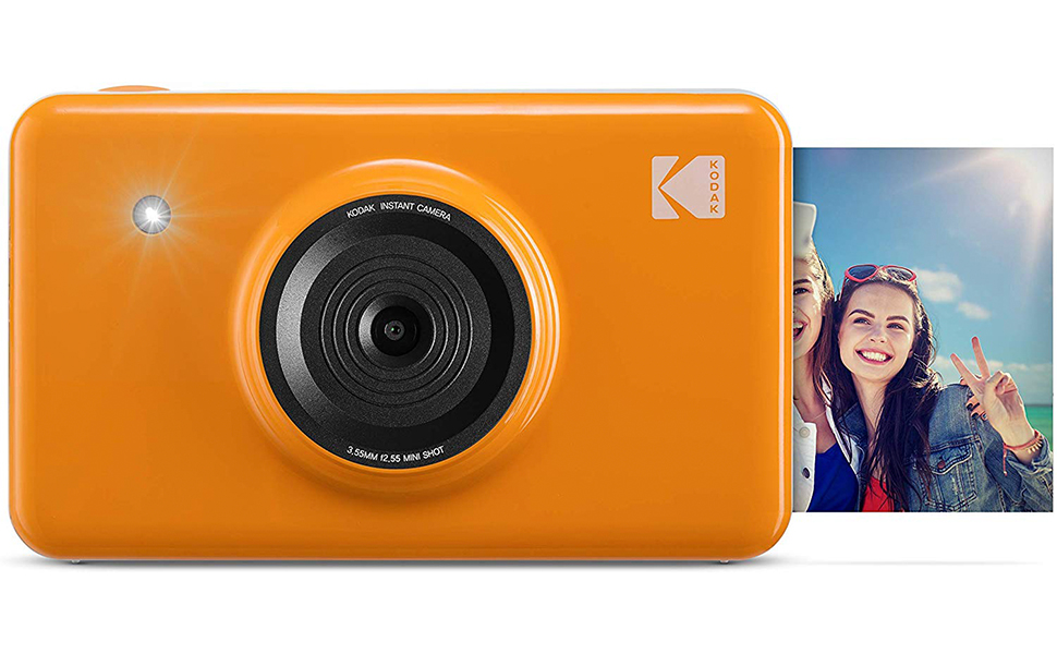 Kodak Mini SHOT Wireless 2 in 1 Digital Camera & Printer Yellow