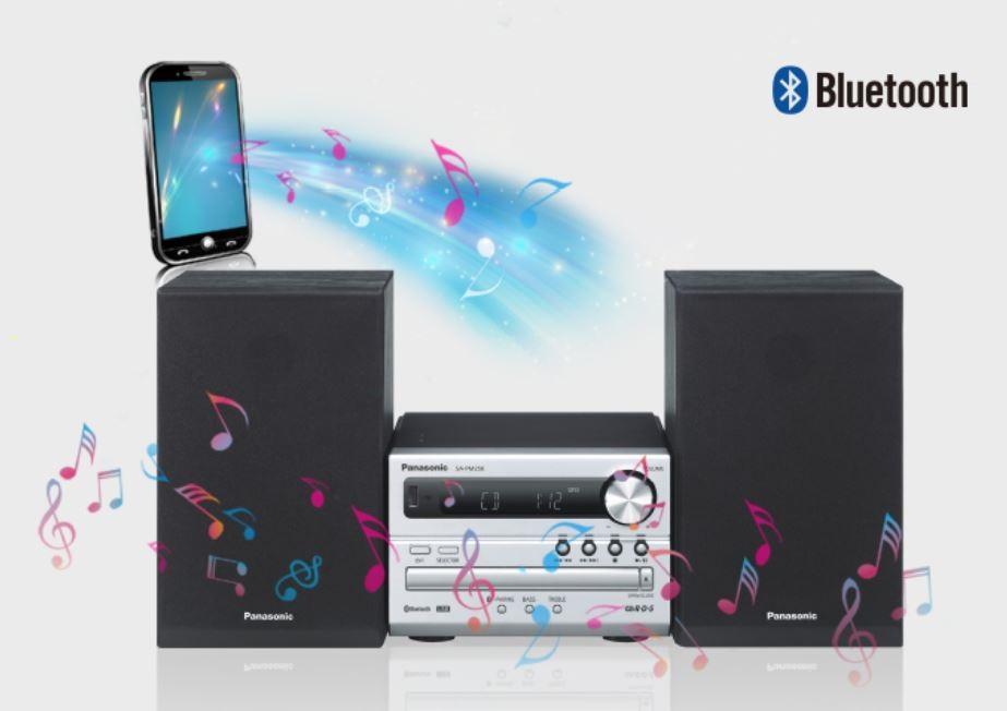 Panasonic SC-PM250EC-S- Microcadena (Hi- Fi, Bluetooth, Equipo De ...