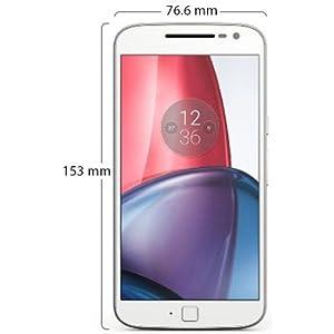 Motorola Moto G4 Plus Dual Sim - 16GB, 2GB, 4G LTE, White