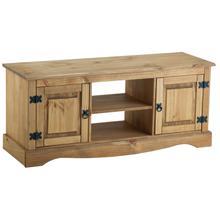 Birlea Corona - Mesa para televisor (2 cajones, madera de pino ...