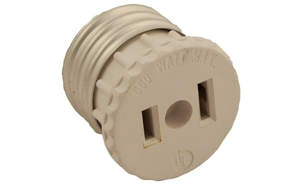 Leviton Black Surface Mounting Receptacle 2-Prong Outlet 15A 125V 1-15R Bulk 306