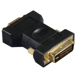 Hama Dvi Vga Adapter Dvi Stecker Vga Kupplung Computer Zubehör