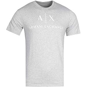 A|X Armani Exchange T-Shirts For Men, M, Grey (8NZTCJZ8H4Z3929-3929-M)