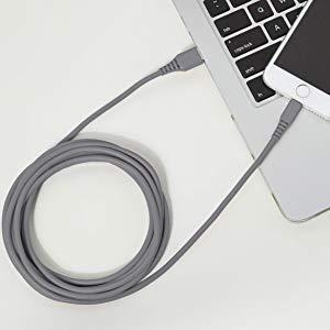 Amazonベーシック ライトニングケーブル USB A Apple MFi認証済み 3m(10フィート) グレー