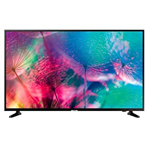 Samsung UE55NU7026, Smart TV 4K UHD (LED, 1300 PQI, Screen Mirroring, PurColor, Mando Smart, Diseño Slim, Dolby Digital Plus, Compatible con App SmartThings de Móvil Universal Guide), WiFi, 55