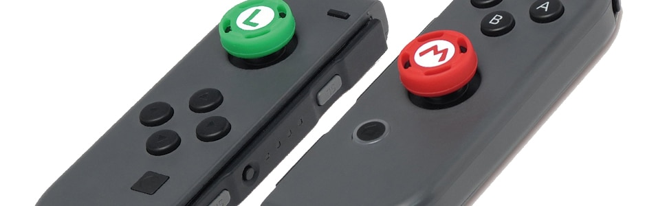 Amazon.com: HORI Nintendo Switch Super Mario Analog Caps
