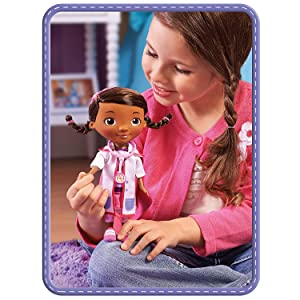 Amazon Com Doc Mcstuffins Toy Hospital Doc Doll Toys Amp Games