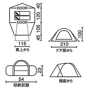 コールマン ツーリングドーム