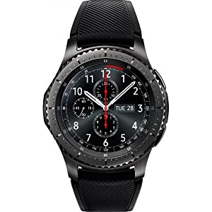 db6f097f0 Samsung Gear S3 Frontier Smart Watch - Space Grey, SM-R760: Amazon.ae