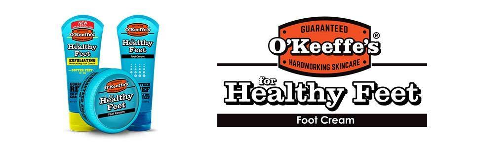 O'Keeffe's Healthy Feet Foot Cream for Dry, Cracked Heels