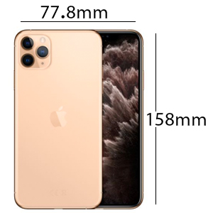 Apple MWHQ2AE/A iPhone 11 Pro Max without FaceTime - 512GB, 4G LTE, Gold