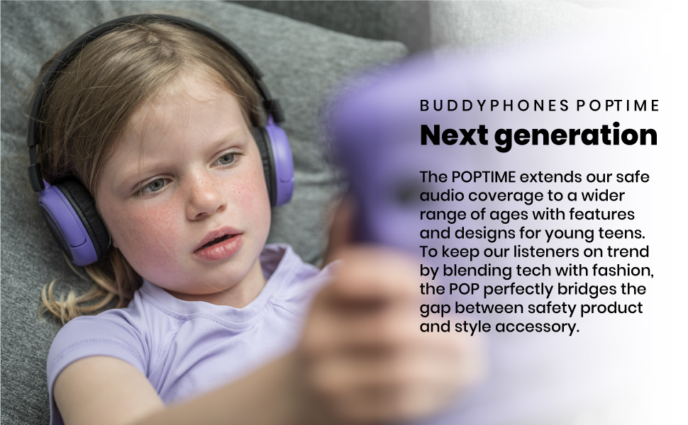 Headsets, Purple Headsets, Kids Bluetooth Headset, Purple