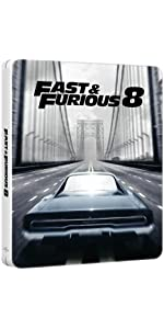 【Amazon.co.jp限定】ワイルド・スピード ICE BREAK スチール・ブック仕様本編ブルーレイ+特典DVDセット ※数量限定