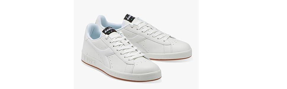 Diadora Game P Sneakers WhiteBlue Art. 101160281 C4656