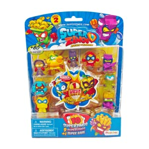 Superzings - Blíster 10 Figuras Serie 2 (MagicBox PSZ2B016IN00 ...