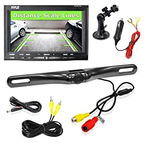 Pyle Backup Camera >> Amazon Com Pyle Backup Car Camera Rear View Screen Monitor System