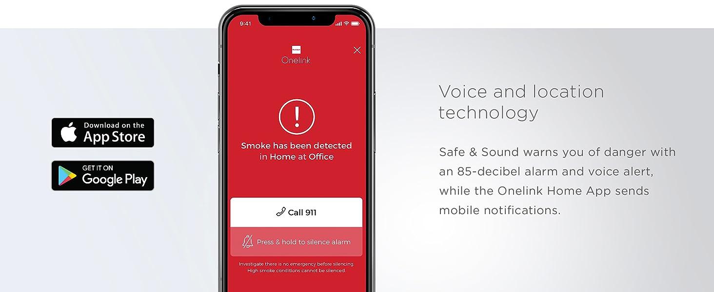 First Alert Onelink Safe and Sound App