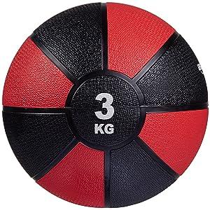 AmazonBasics - Balón medicinal, 3 kg: Amazon.es: Deportes y aire libre