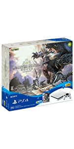 PlayStation 4 MONSTER HUNTER: WORLD Starter Pack White