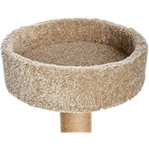 AmazonBasics cat tree, Review of AmazonBasics Cat Tree with Scratching Posts – Large