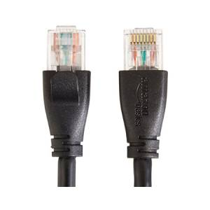 AmazonBasics RJ45 Cat-6 Ethernet Patch Cable - 3 Feet (0.9 Meters)