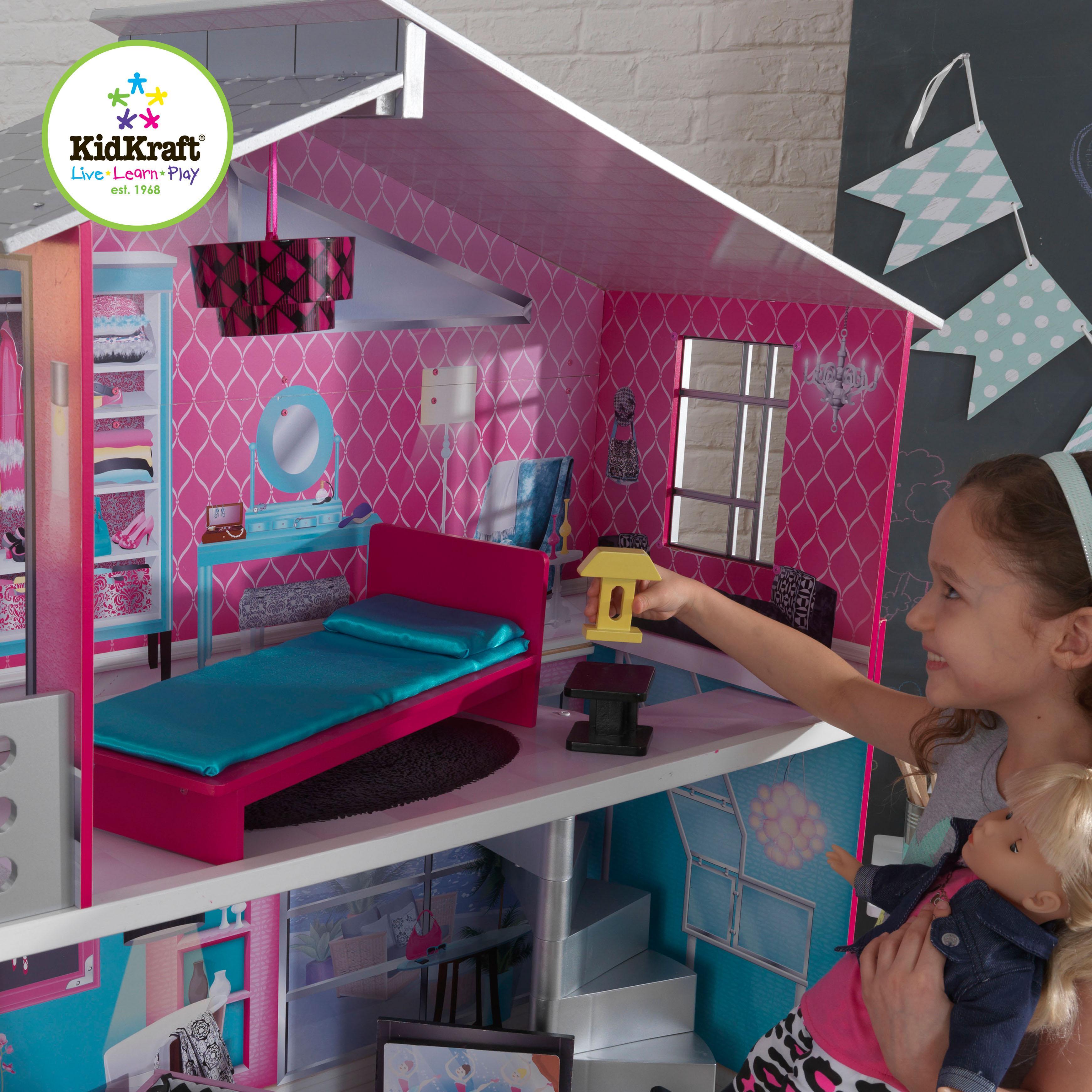 "Amazon.com: KidKraft 18"" Breanna Dollhouse: Toys & Games"