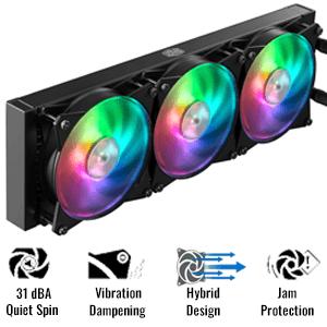 360 RGB Fans