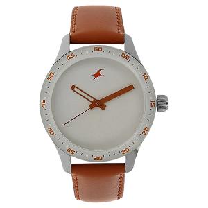 Fastrack Monochrome Analog White Dial Women's Watch