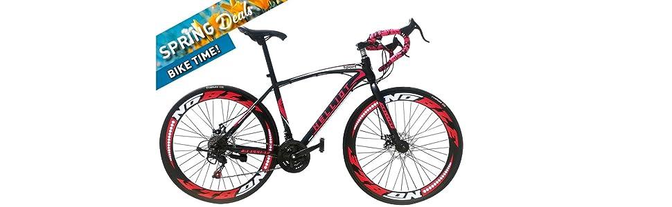Helliot Bikes Helliot Sport 01, Adultos Unisex, Negro, M-L: Amazon ...