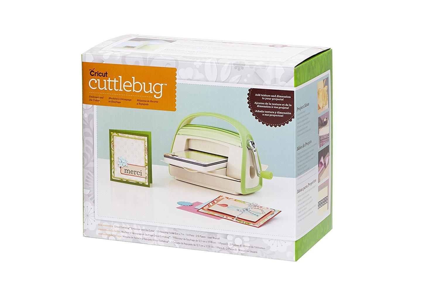 Instructions for Using the Cuttlebug Die Cuts