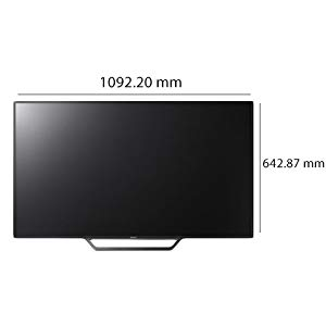 Sony 48 Inch Full HDSony 48 Inch Full HD LED Smart TV - KLV-48W652D LED Smart TV - KLV-48W652D