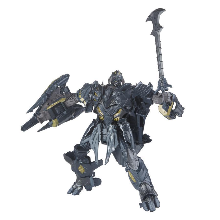 Transformers the last knight premier edition leader class megatron figure toys - Transformers prime megatron ...