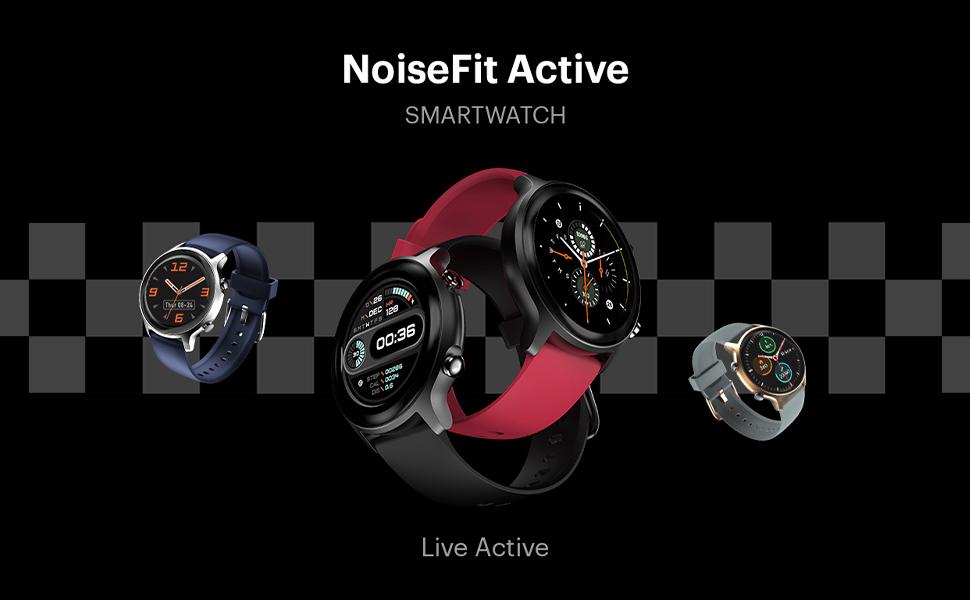 NoiseFit Active Smartwatch