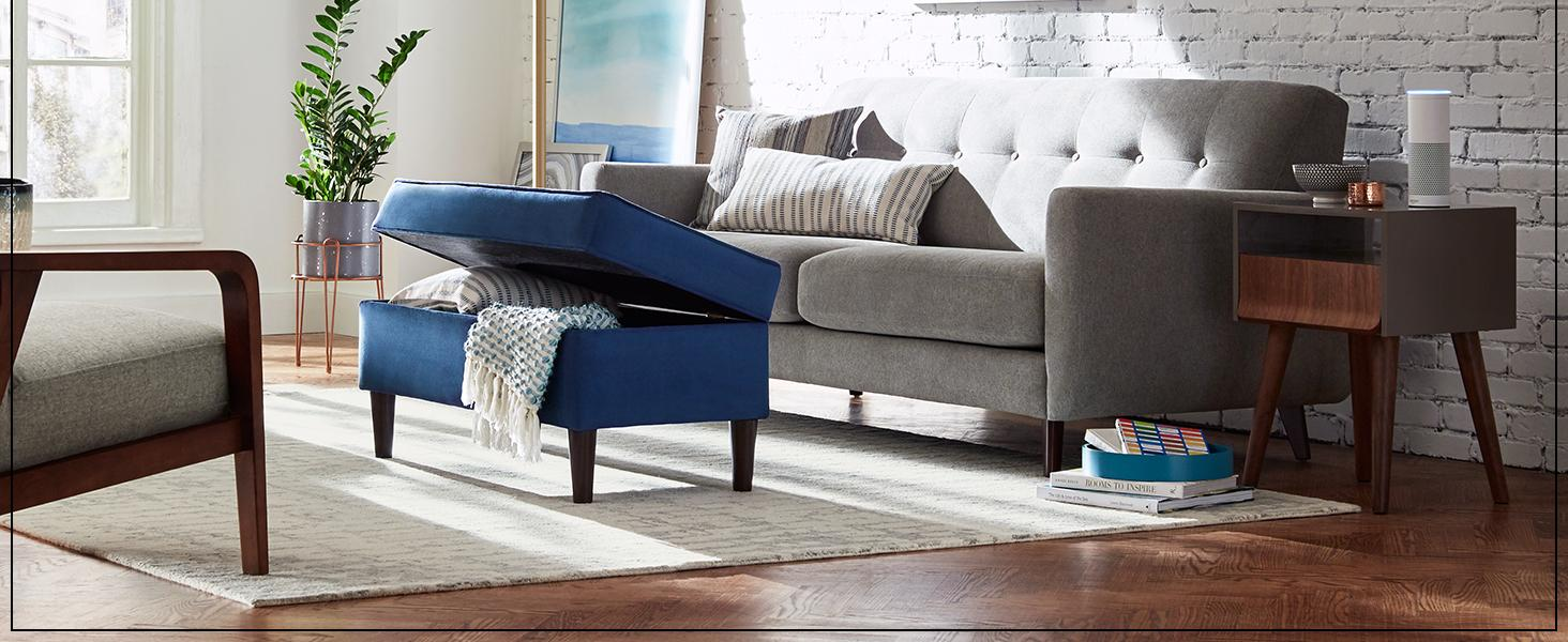 Loveseat, sectional, velvet, tweed, fabric, accent chair, couch, chaise, furniture, living room