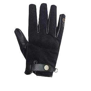 "XS Motorradhandschuhe /""Walmer/"" f/ür Damen Sommer-Handschuhe Windsoroyal Braun"