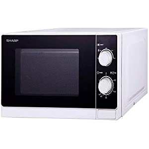 Microwave Oven Sharp 20 Litres, White, R-20AS-W