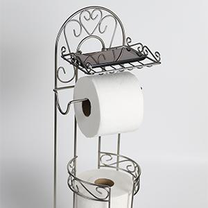 Amazon Com Mclee Creations Free Standing Toilet Paper
