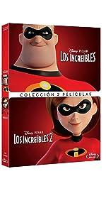 Pack Los Increibles 1+2 [DVD]: Amazon.es: Personajes Animados, Brad Bird, Personajes Animados: Cine y Series TV