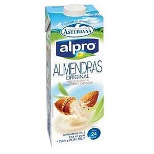 Alpro Central Lechera Asturiana Bebida de Almendra - Paquete de 8 ...