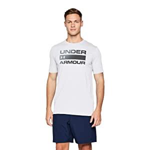 Under Armour Men's Wordmark Short Sleeve Top