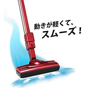 アイリスオーヤマ 掃除機 サイクロン スティック クリーナー パワーヘッド IC-SM1-R