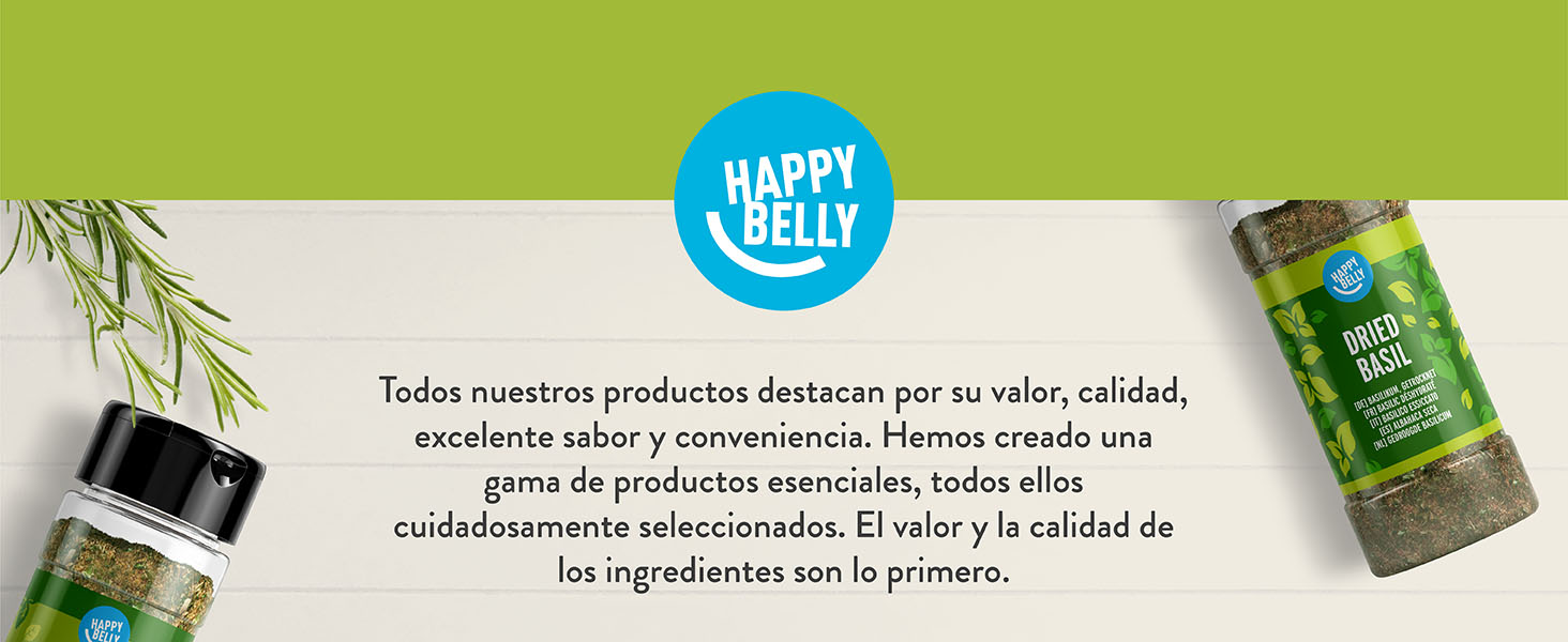 Marca Amazon - Happy Belly - Orégano seco, 4x15g: Amazon.es ...