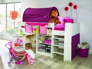 Steens Etagenbett Aufbauanleitung : Steens for kids kinderbett etagenbett inkl lattenrost und