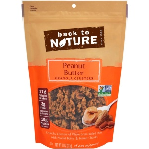 Peanut Butter Granola Clusters