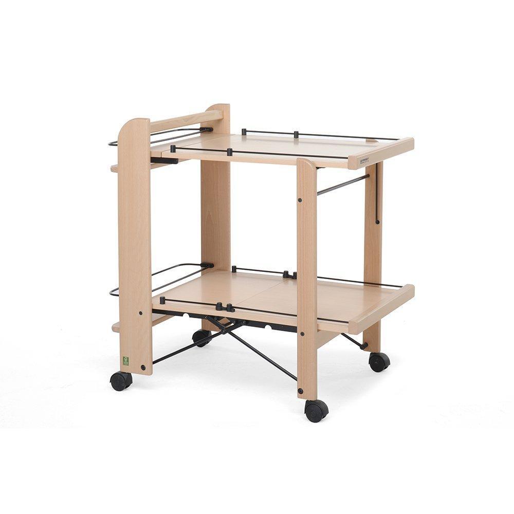 Foppapedretti service carrello in legno pieghevole for Amazon carrello portavivande pieghevole