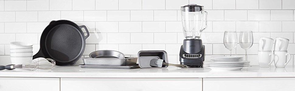 Amazonbasics batteria da cucina 8 pezzi con - Batteria da cucina imco ...