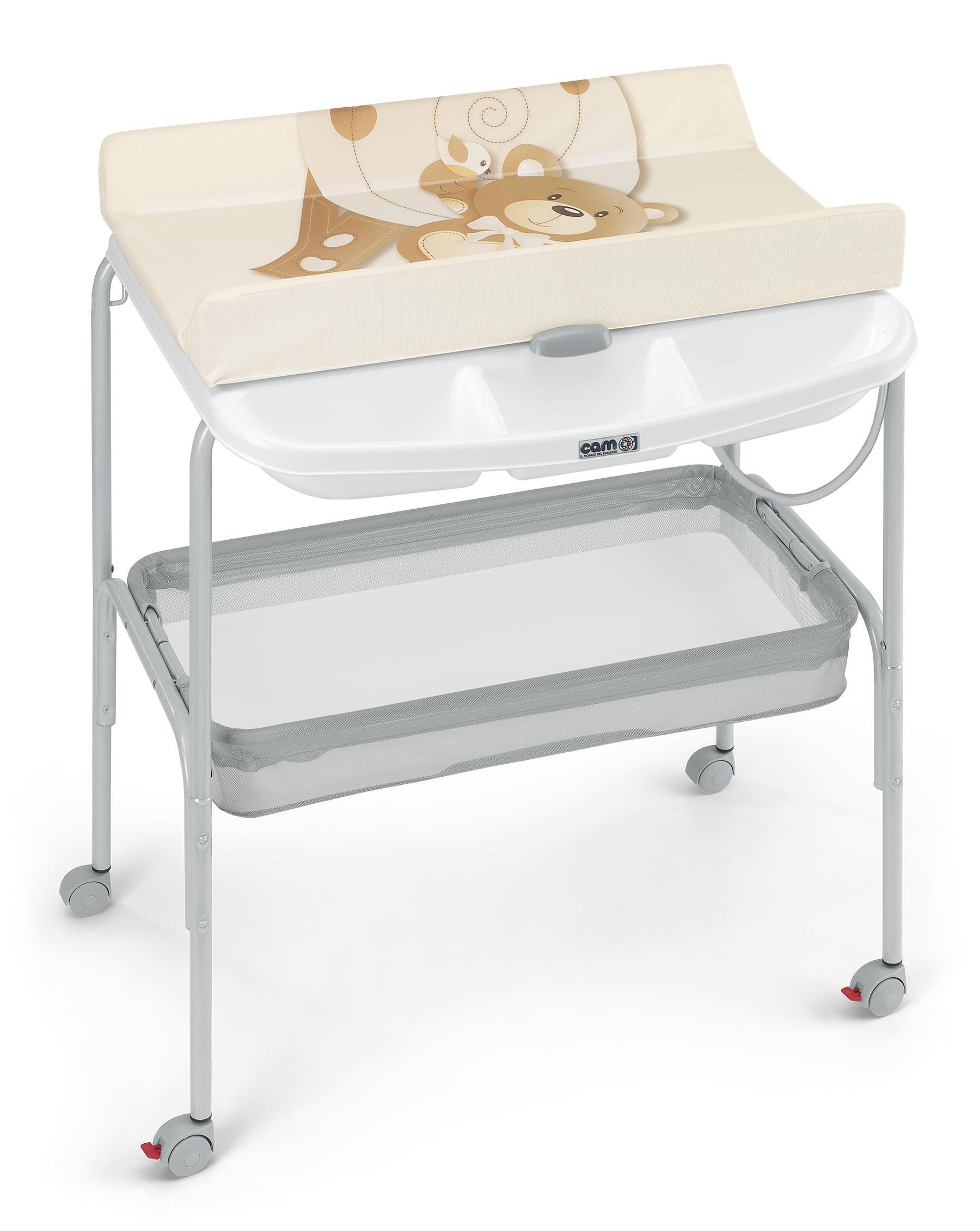 cam il mondo del bambino c605001 ulise fasciatoio con vaschetta