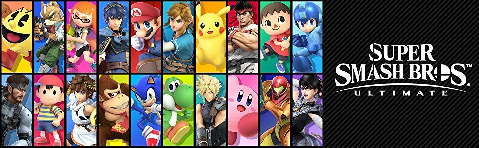 SSBU characters