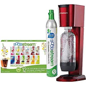 sodastream genesis sparkling water maker black and silver soda stream kitchen. Black Bedroom Furniture Sets. Home Design Ideas