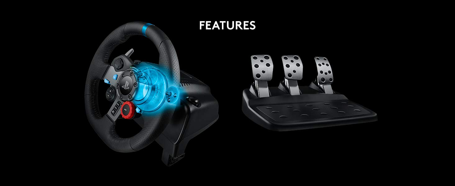 Logitech 941-000113 G29 Driving Force Racing Hardware for PlayStation 4, PlayStation 3 and PC